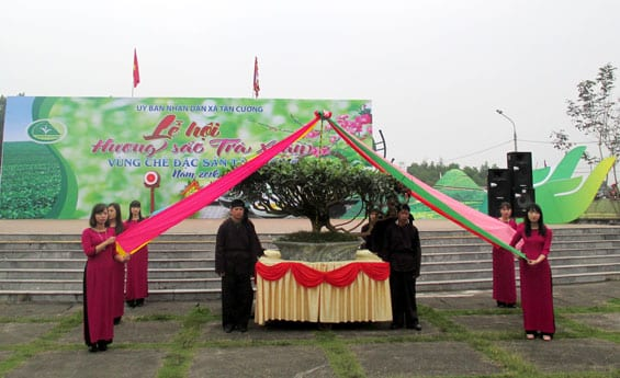 Lễ hội trà Hương Sắc Trà Xuân ở Tân Cương